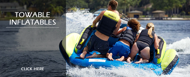 Deals on Towable Inflatable Tubes and Ringos, Boat Ski Tubes and Banana Boats, Water Toys and Deals on Towable Toys